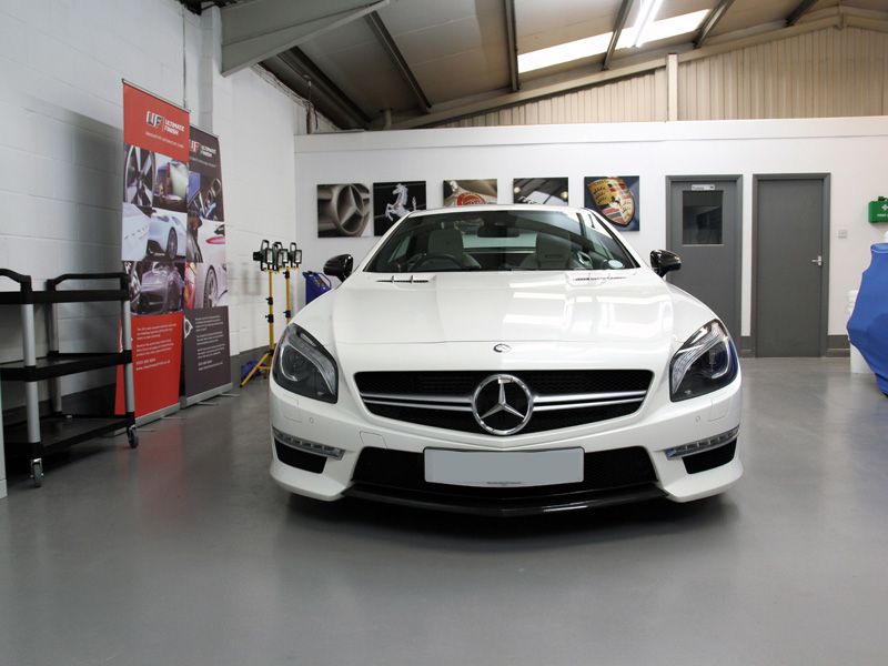 Mercedes-Benz SL63 AMG - Gloss Enhancement Treatment