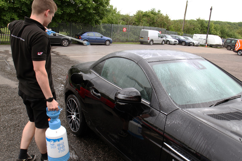 2017 Mercedes-AMG SLC 43 - New Car Protection Treatment