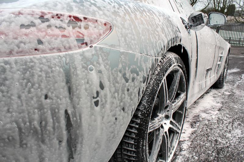 Mercedes-Benz SLS AMG Prepared For Storage