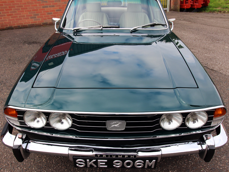 1973 Triumph Stag V8 - Gloss Enhancement Treatment