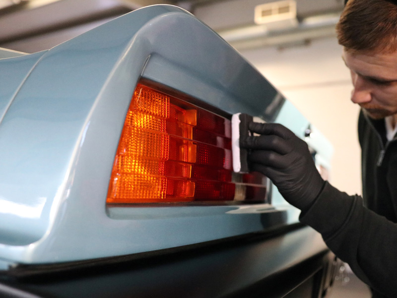 1982 Lotus Turbo Esprit - Gloss Enhancement Treatment