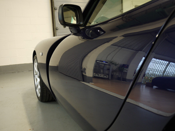 TVR Tuscan 2S finished with 22PLE VX1 Pro Signature Glass Coat