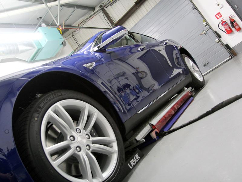 Tesla Model S P90D New Car Protection Treatment