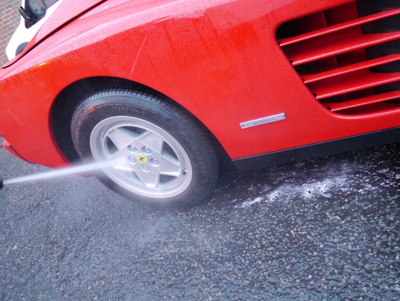 Ferrari Testarossa - Gloss Enhancement Treatment