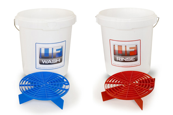 Ultimate Finish Two Bucket Set With Scratch Shields