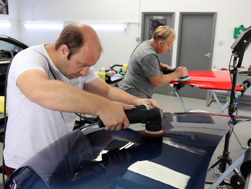 Machine Polishing Advanced Training - 2-Day Training Course at the award-winning UF Studio, Brands Hatch, Kent