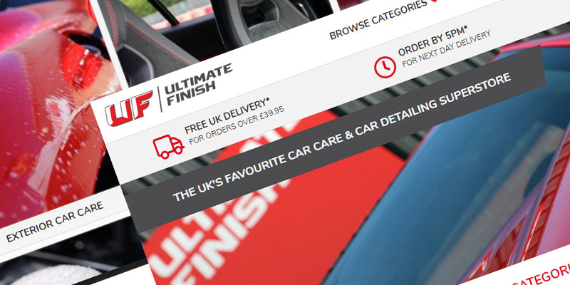 Ultimate Finish - Legendary Automotive Care - From Click to Knock