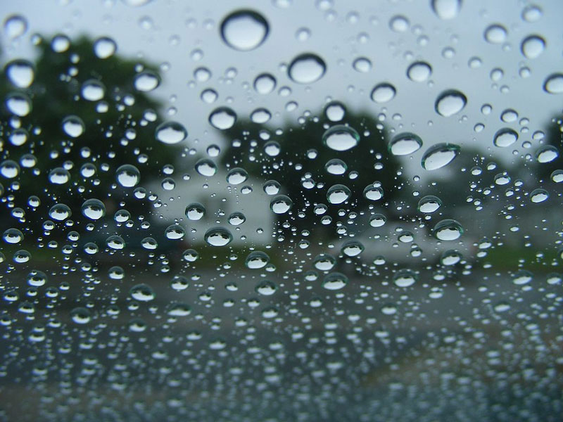 Nanotechnology is used to manufacture sealants for automotive glass, improving driver's vision in poor weather conditions