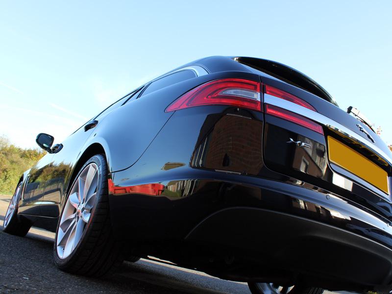 Jaguar XF Sportbrake receives Gloss Enhancement Treatment