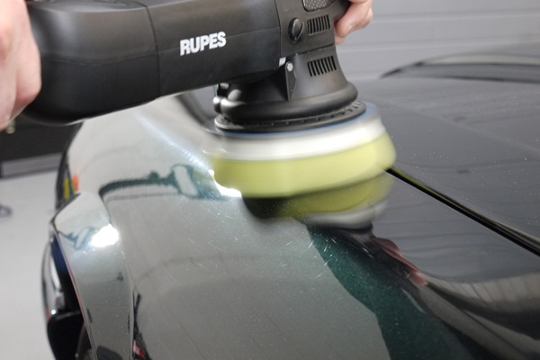 RUPES BigFoot LHR15ES used by Ultimate Detailing Studio for Gloss Enhancement Detail
