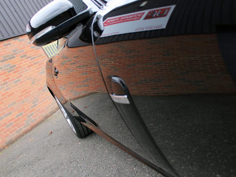 Metallic Black Jaguar XK Has Its Cherry Flake Restored