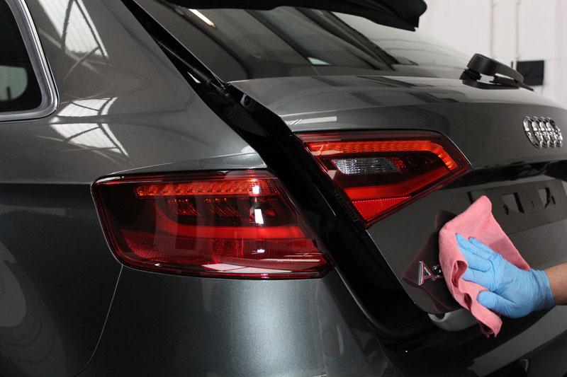 Audi A3 Sportback 2.0 TDi S-Line - UF Microfibre Buffing Fleece