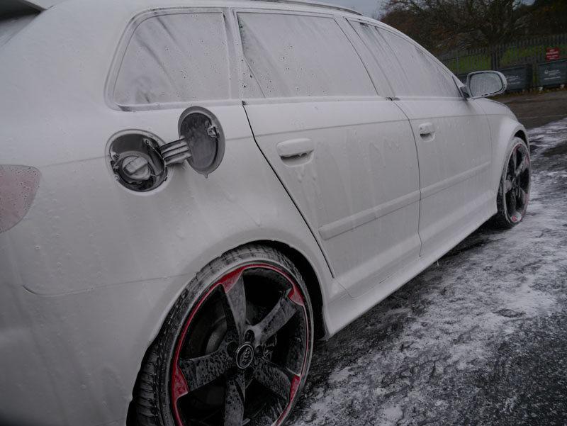 Audi RS3 Sportback - Ultimate Snow Foam