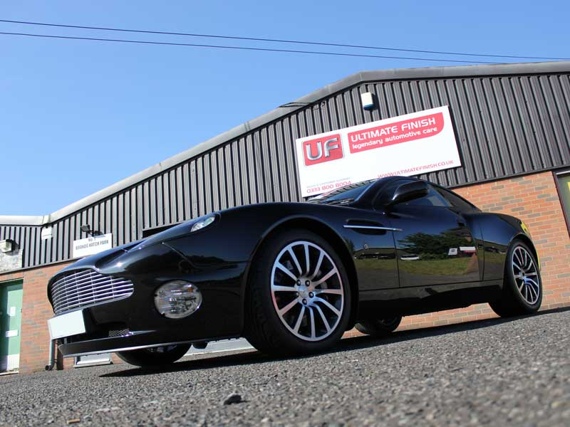 Aston Martin Vanquish - Gloss Enhancacement Treatment